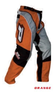 Pantaloni enduro PROGRIP RACE LINE 6010, portocaliu