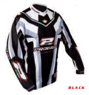 Tricou enduro PROGRIP RACE LINE 7010, negru