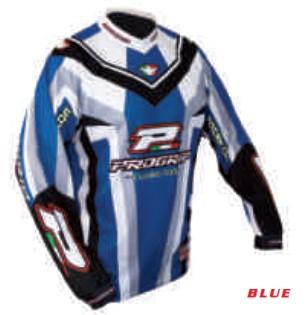 Tricou enduro PROGRIP RACE LINE 7010, albastru