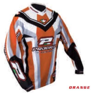 Tricou enduro PROGRIP RACE LINE 7010, portocaliu