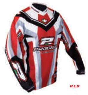 Tricou enduro PROGRIP RACE LINE 7010, rosu