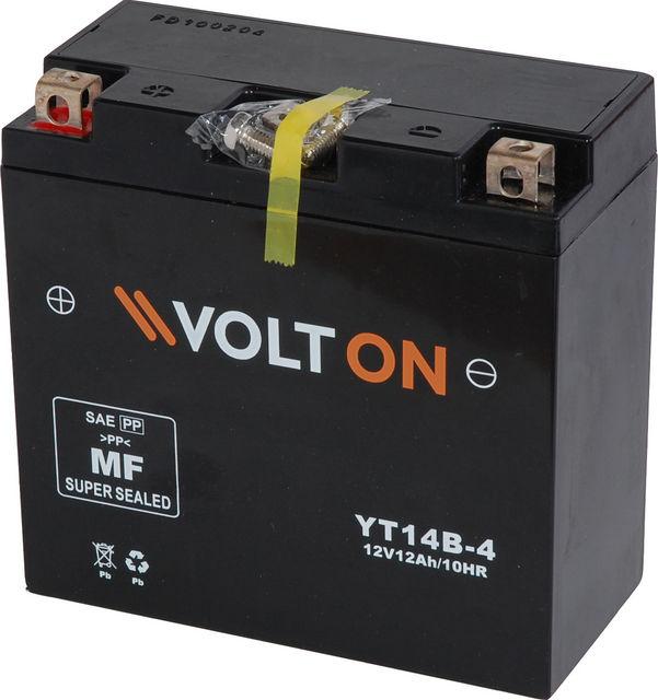 Baterie moto VoltON 12V 12 Ah (YT14B-4)