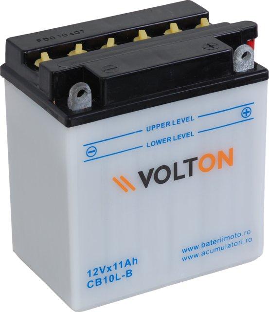 Baterie moto VoltON 12V 11 Ah (YB10L-B)