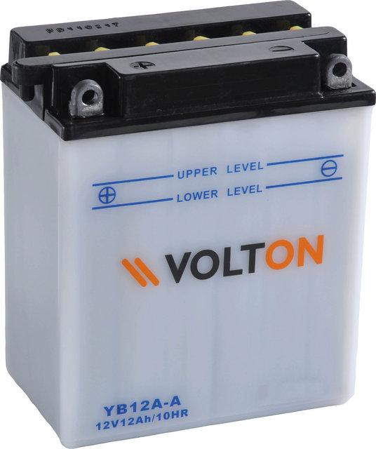Baterie moto VoltON 12V 12 Ah (YB12A-A)