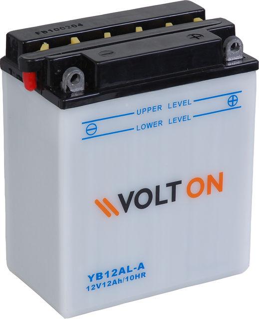 Baterie moto VoltON 12V 12 Ah (YB12AL-A)