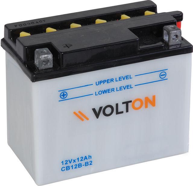 Baterie moto VoltON 12V 12 Ah (YB12B-B2)