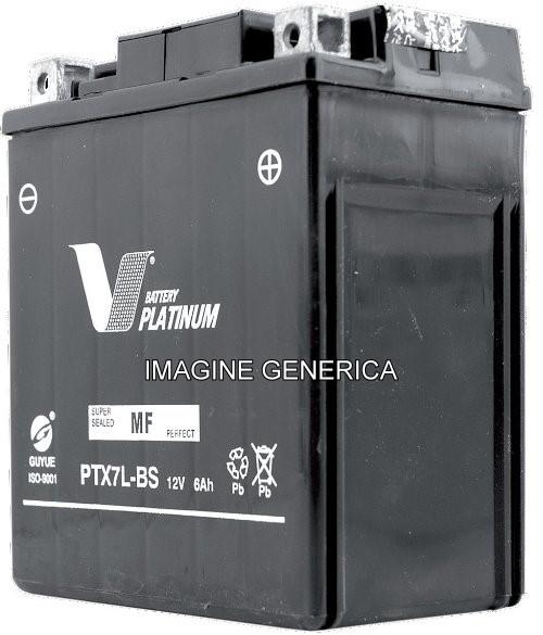 Acumulator moto V Platinum, marca Vicma, cod 12N12A-4A-1